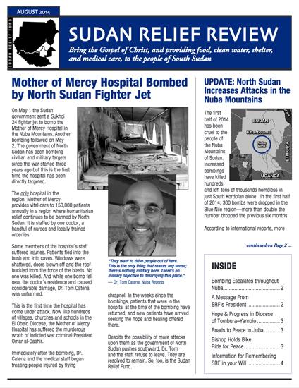 SRF 2014 3RD Quarter Newsletter