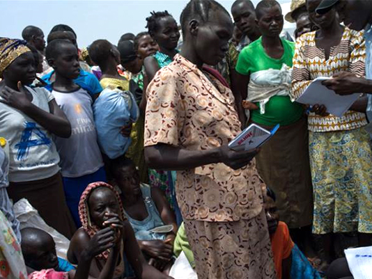South Sudanese troops accused of civilian 'slaughter'