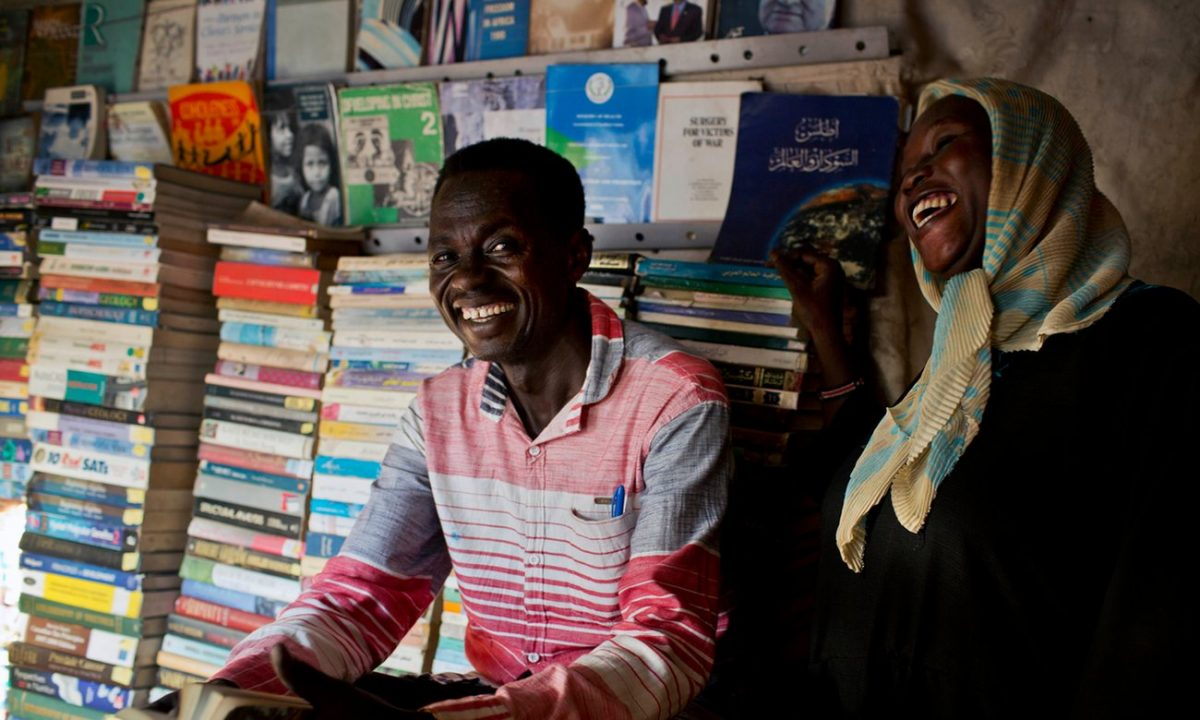 Bookseller of Malakal brings words of comfort to war-torn South Sudan