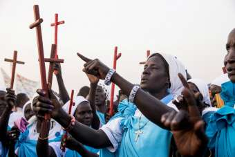 Want Pope Francis to visit South Sudan? Work for peace, bishops say
