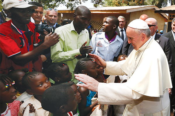 Pope Francis: Take Action For Food Aid