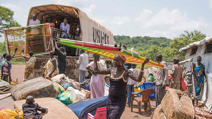 Uganda's sprawling haven for 270,000 of South Sudan's refugees