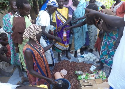 Emergency Food and Support Shipment Arrives in Juba!