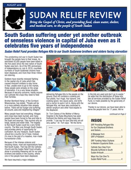 SRF 2016 3RD Quarter Newsletter