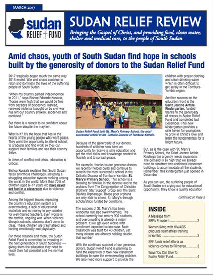 SRF 2017 1ST Quarter Newsletter