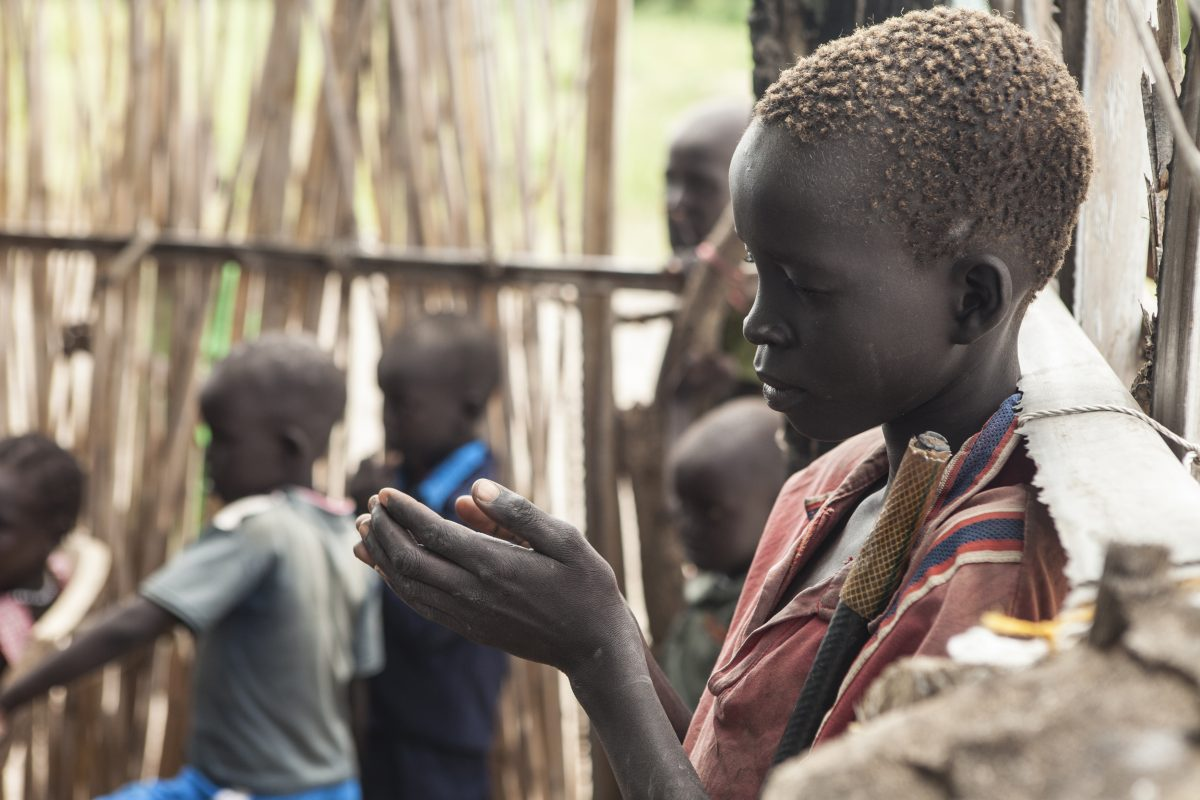 In South Sudan, some children work in mines to survive
