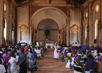 In war-torn South Sudan, priests build a shrine to Our Lady of the Rosary