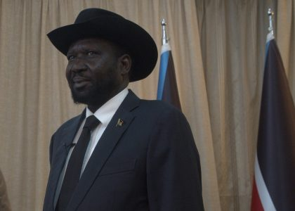 South Sudan President and Rebel Leader Form Transitional Government