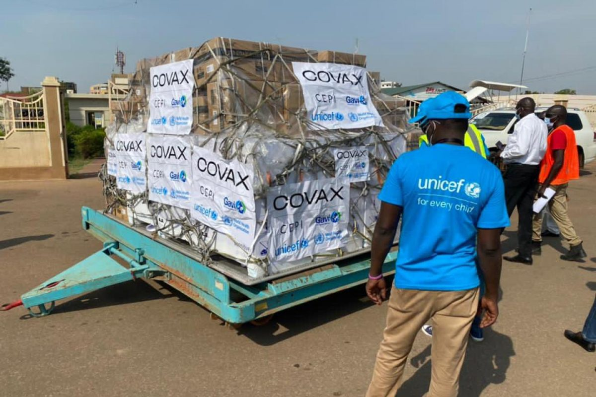 SOUTH SUDAN BEGINS TO RECEIVE COVIDVACCINE SHIPMENTS FROM INDIA