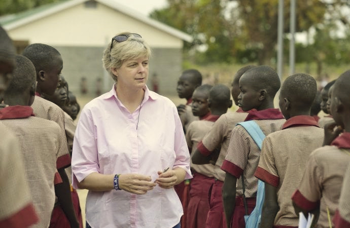 Sister Orla Treacy of Loreto Rumbek Recognized by Ireland's Ambassador to the Holy See