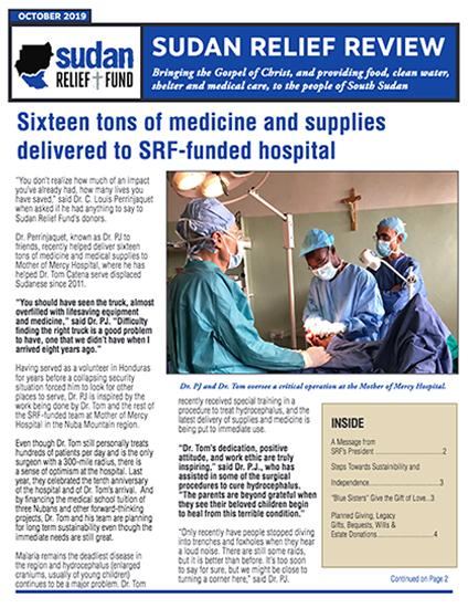 SRF 2019 4TH Quarter Newsletter